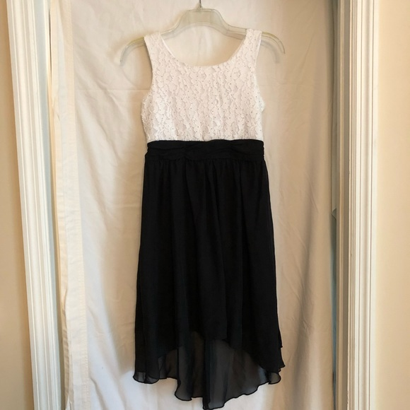 12464793f18 Speechless Dresses | Girls Black White Formal High Low Dress | Poshmark